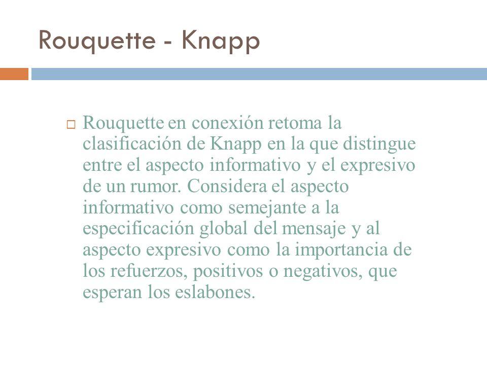 Rouquette - Knapp
