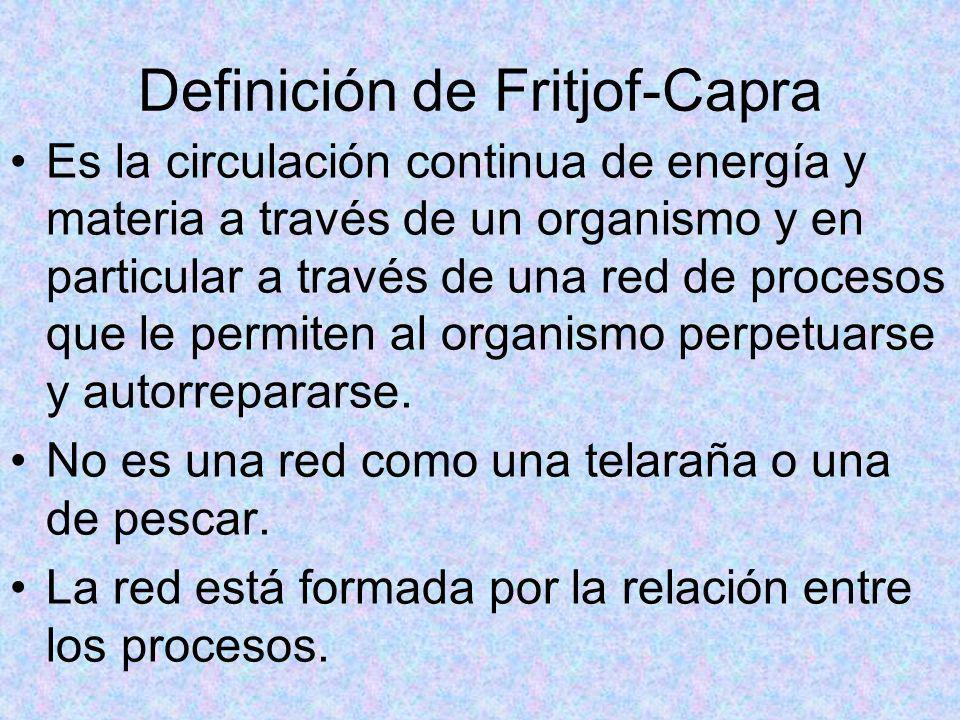Definición de Fritjof-Capra