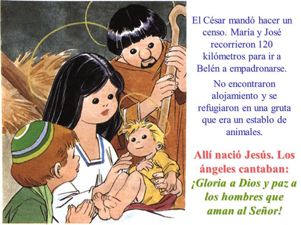 El César mandó hacer un censo