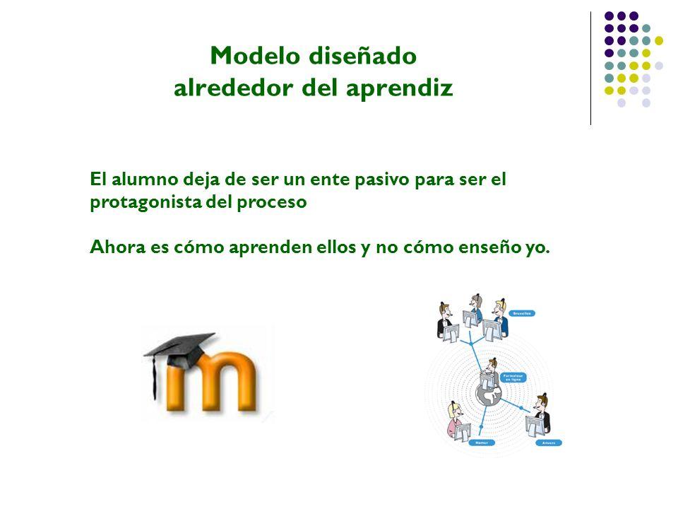 Modelo diseñado alrededor del aprendiz