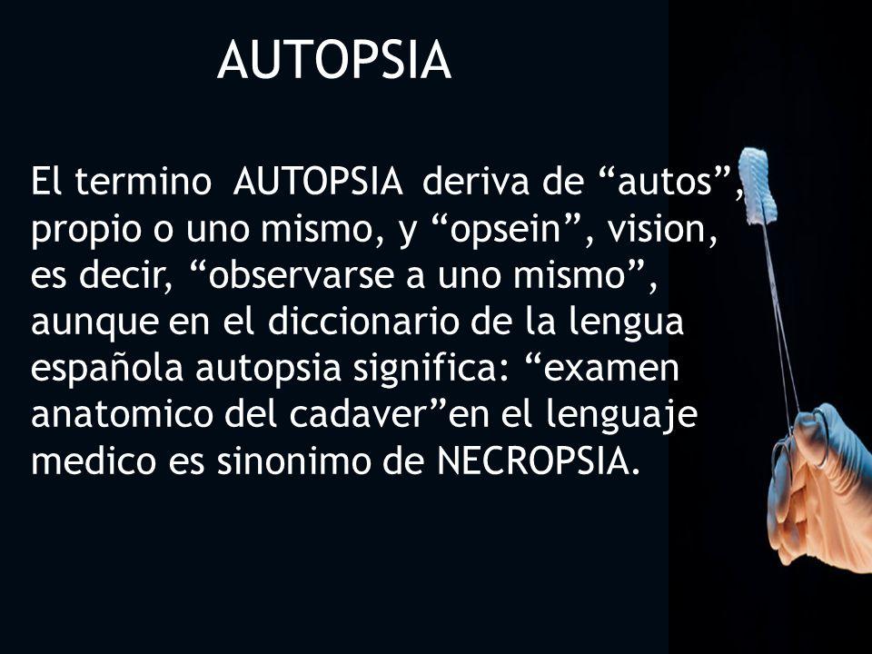 3030 AUTOPSIA.