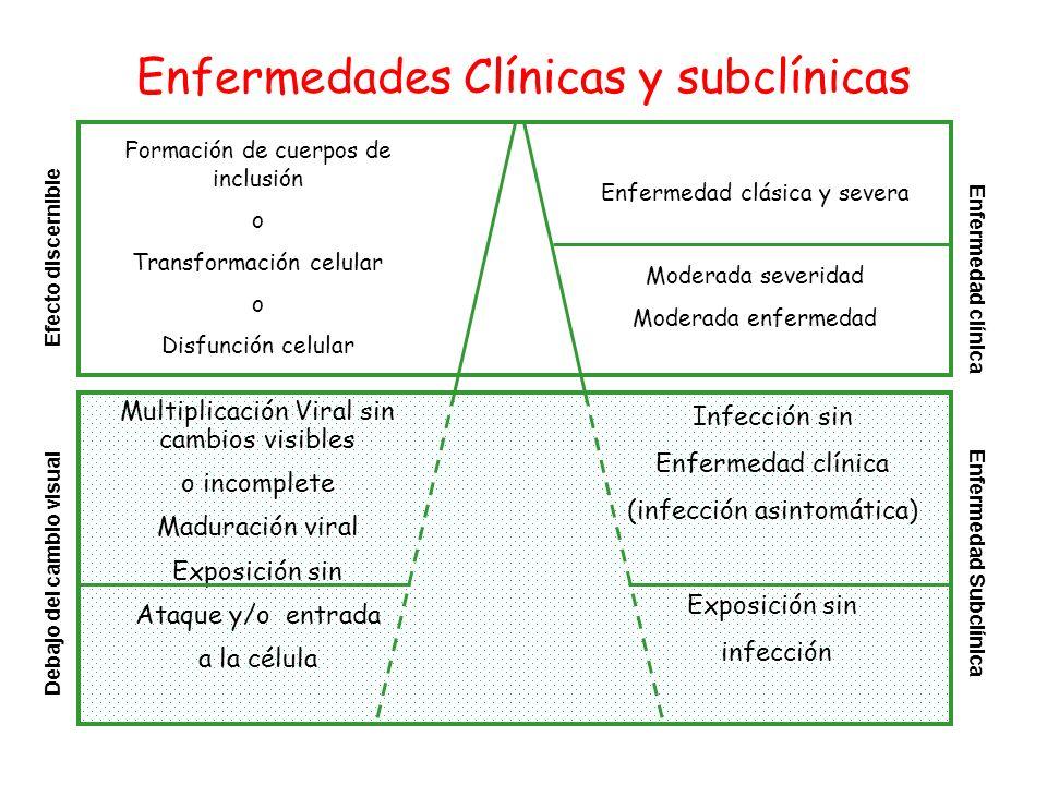 Enfermedades Clínicas y subclínicas