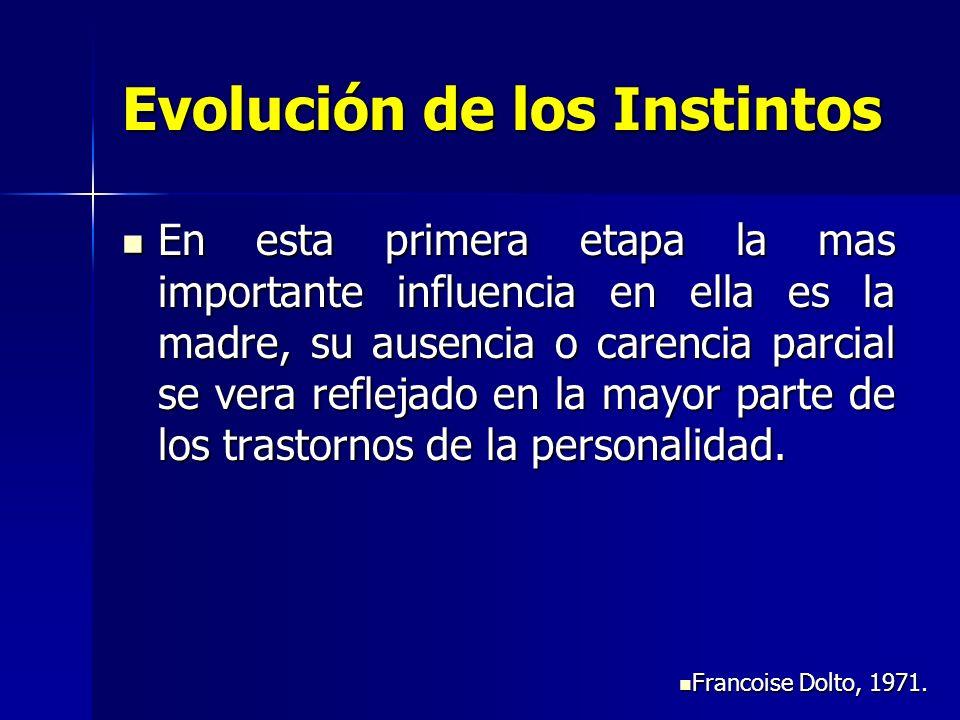 Evolución de los Instintos