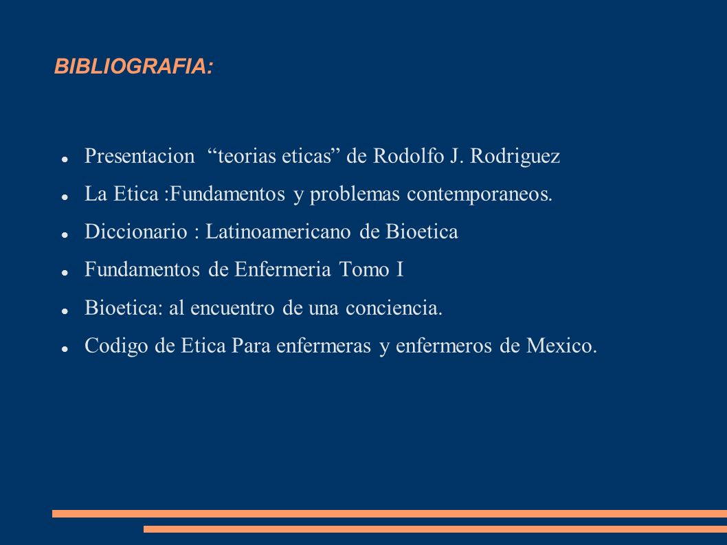 Presentacion teorias eticas de Rodolfo J. Rodriguez