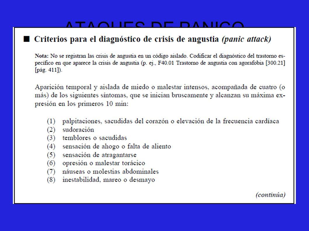 ATAQUES DE PANICO