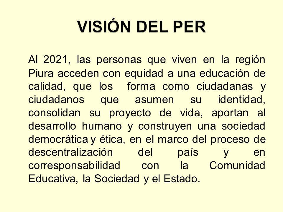 VISIÓN DEL PER