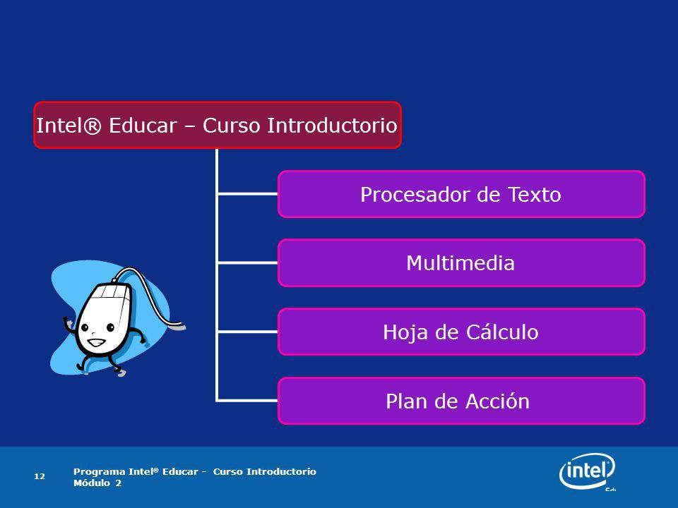 Intel® Educar – Curso Introductorio