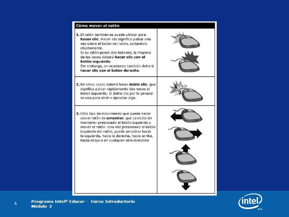 Act 1 Paso 2 : A medida que se describan los movimientos en la siguiente tabla, intente realizarlos utilizando su ratón, según se le indique.
