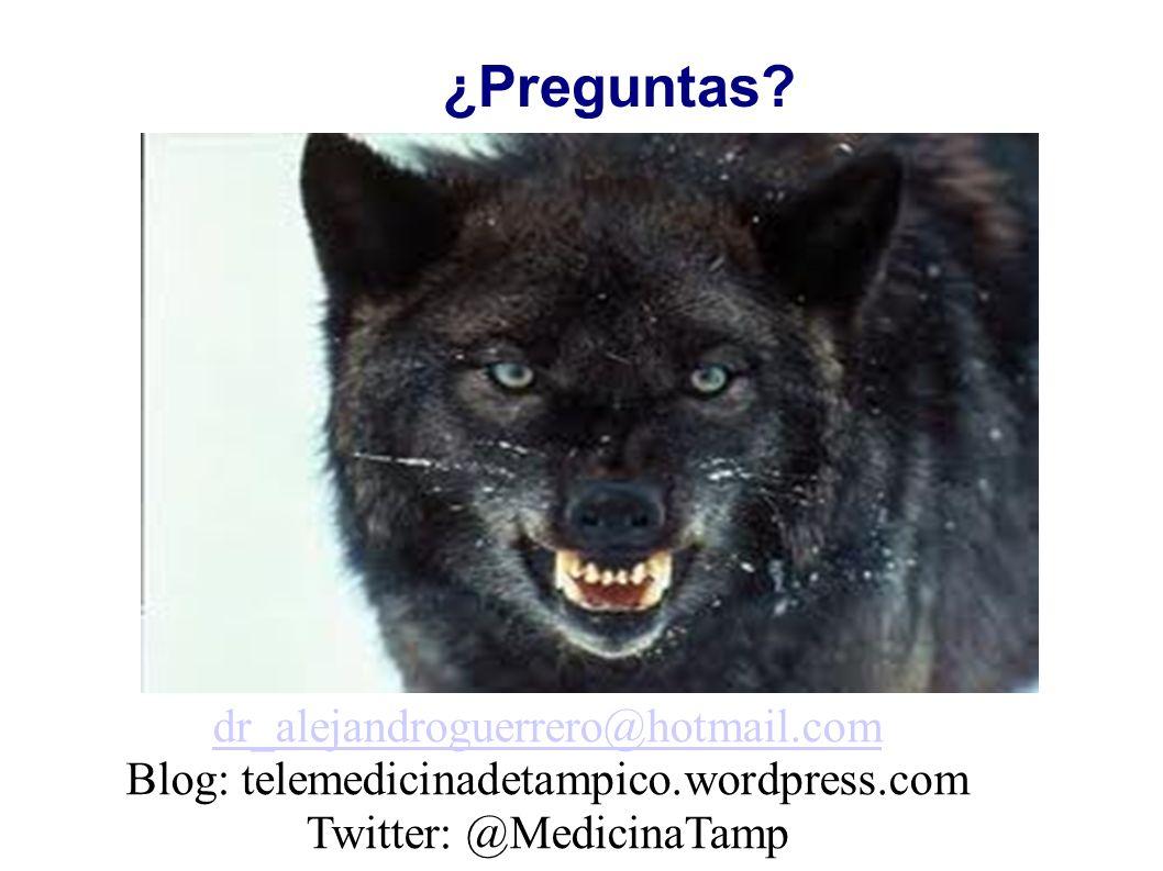 ¿Preguntas dr_alejandroguerrero@hotmail.com