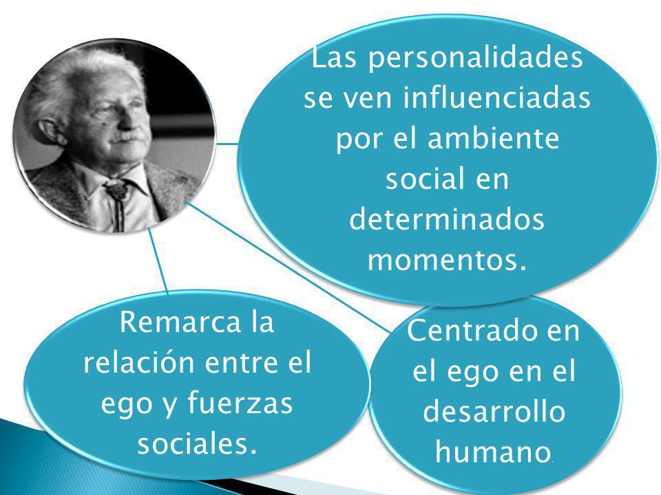 Centrado en el ego en el desarrollo humano.