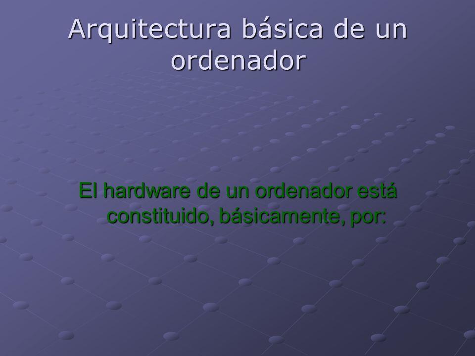 Arquitectura básica de un ordenador