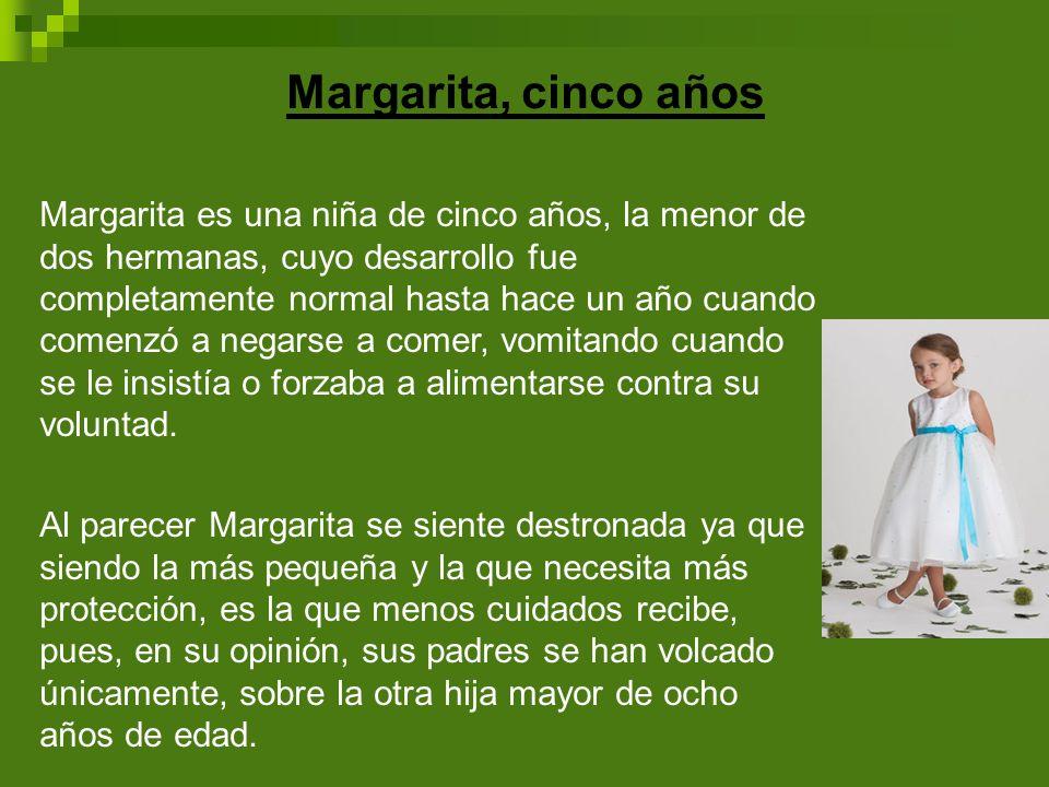 Margarita, cinco años