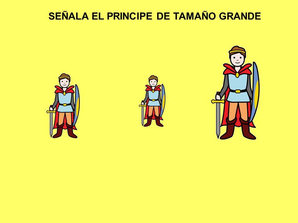 SEÑALA EL PRINCIPE DE TAMAÑO GRANDE