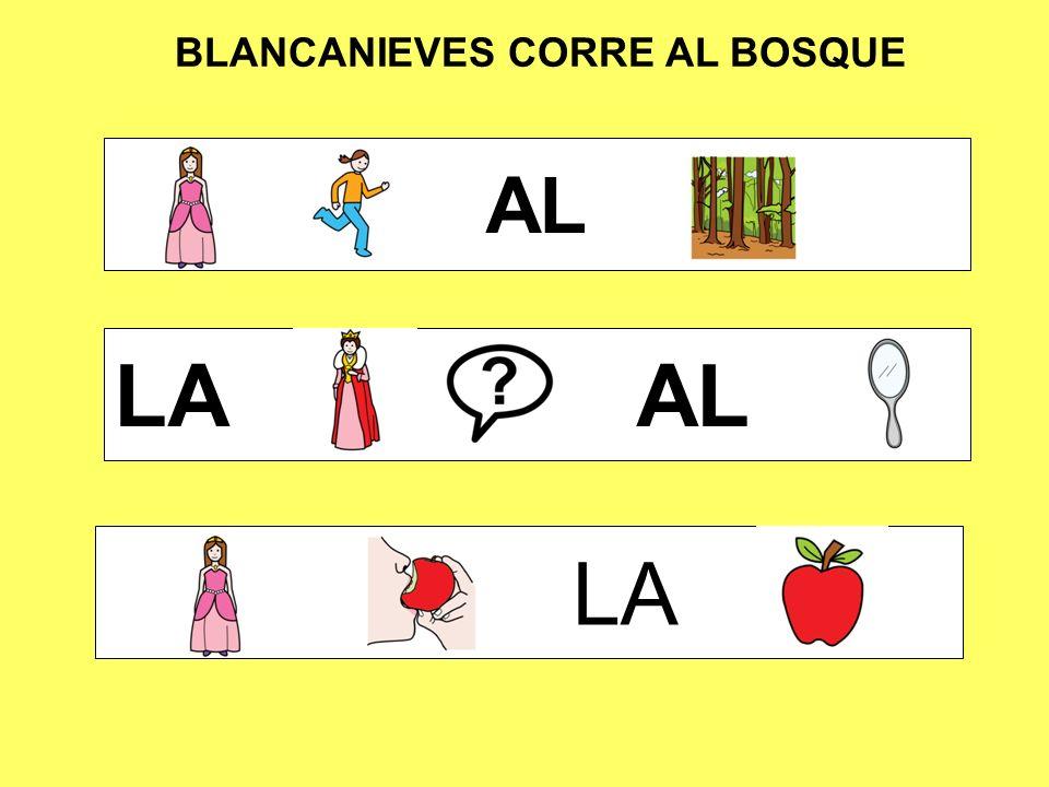 BLANCANIEVES CORRE AL BOSQUE