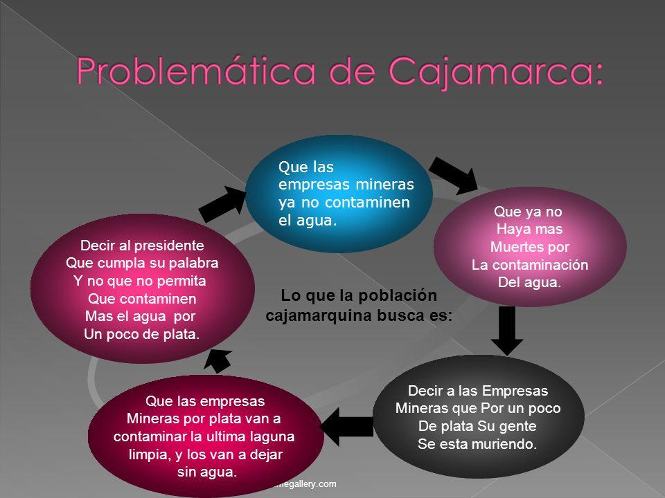 Problemática de Cajamarca: