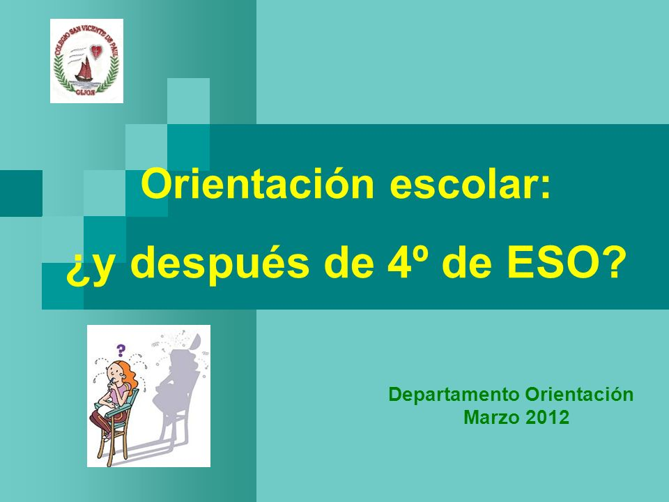 Orientación escolar: ¿y después de 4º de ESO