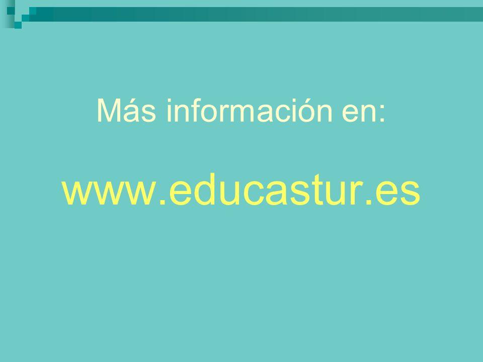 Más información en: www.educastur.es