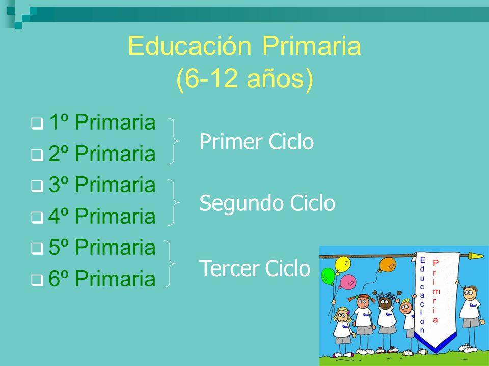 Educación Primaria (6-12 años)