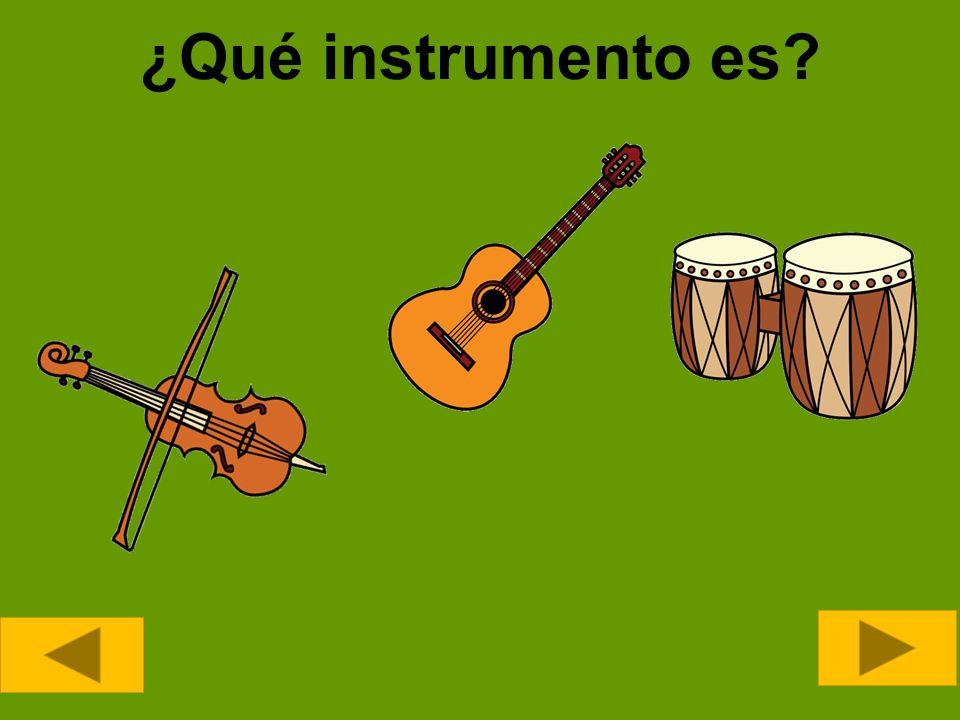 ¿Qué instrumento es