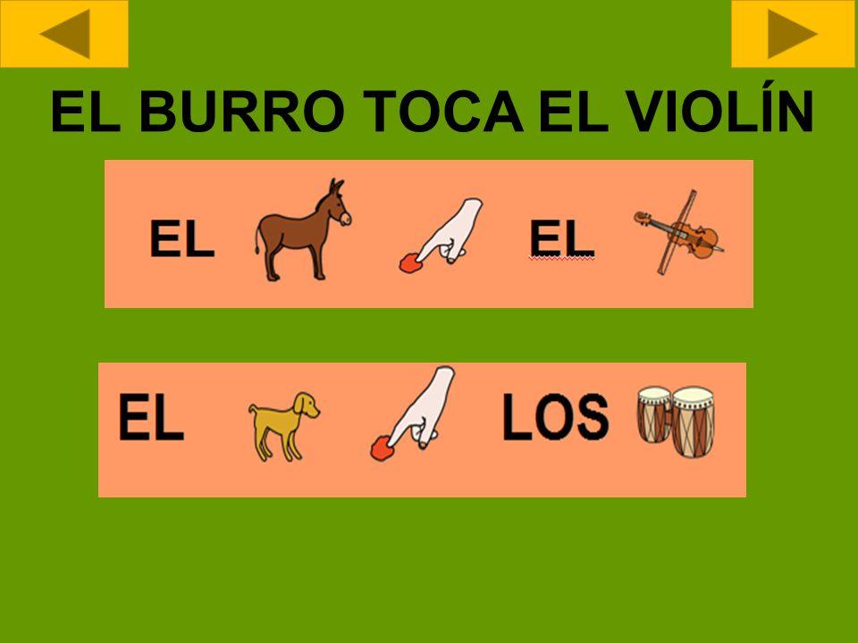 EL BURRO TOCA EL VIOLÍN
