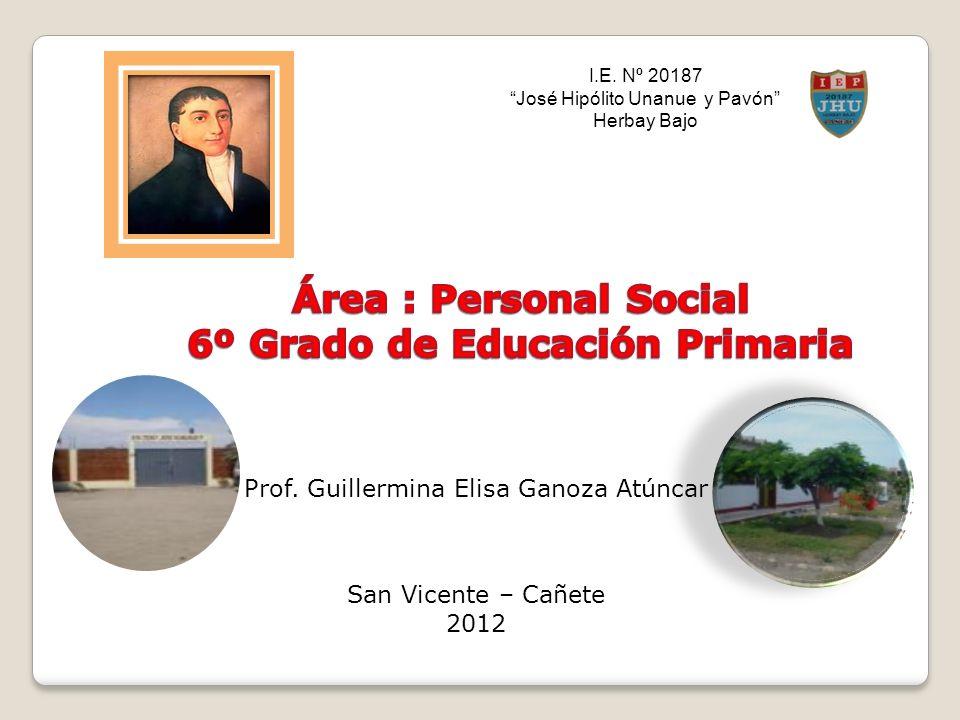 6º Grado de Educación Primaria