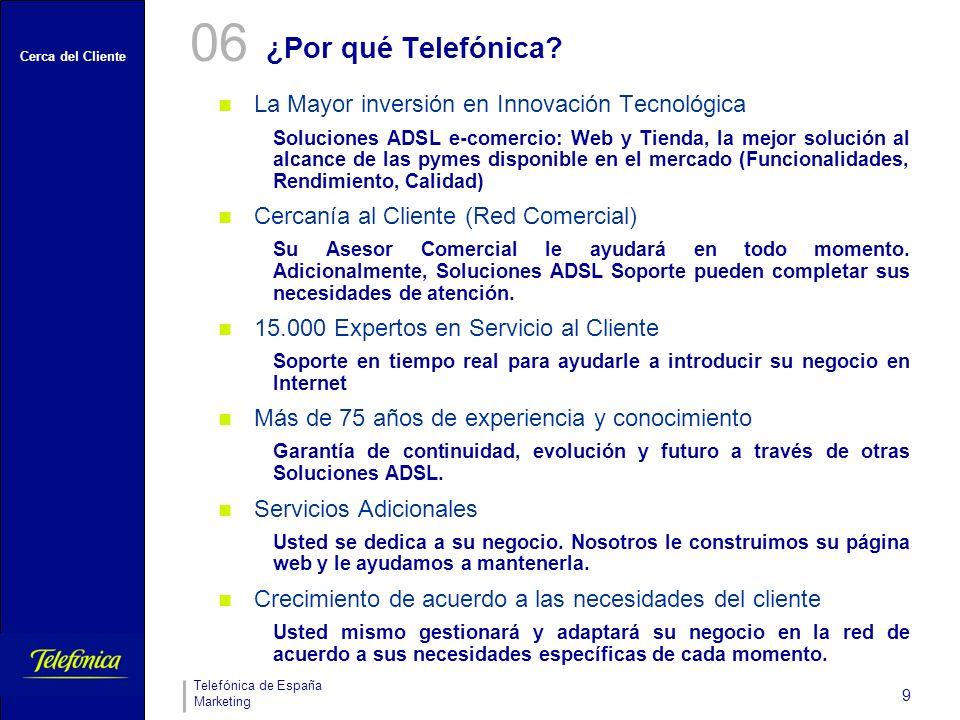 06 ¿Por qué Telefónica La Mayor inversión en Innovación Tecnológica