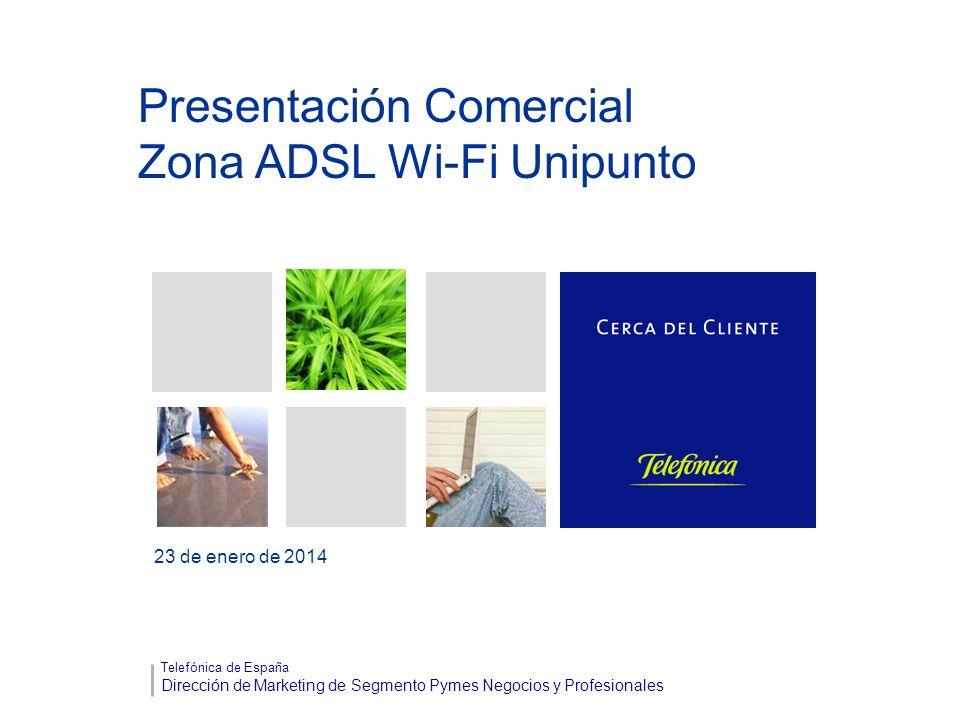 Presentación Comercial Zona ADSL Wi-Fi Unipunto