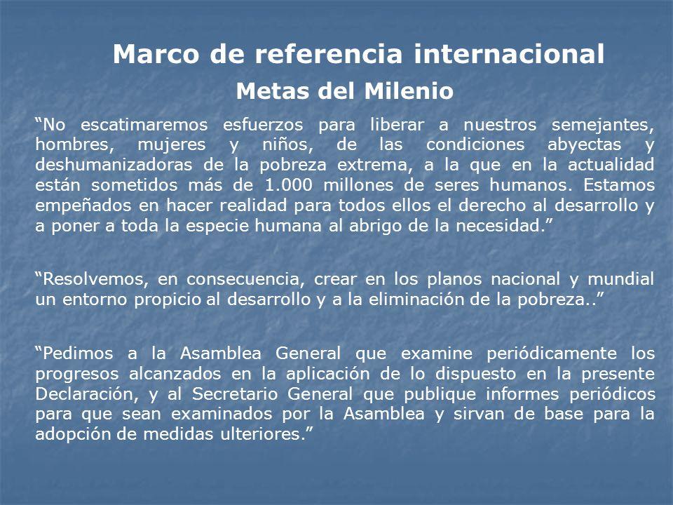 Marco de referencia internacional