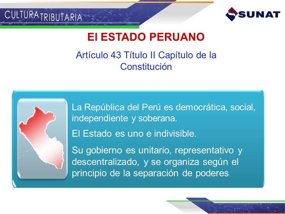 Artículo 43 Título II Capítulo de la Constitución