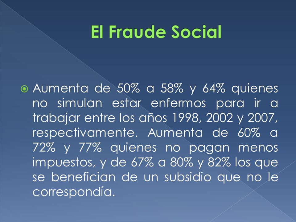 El Fraude Social