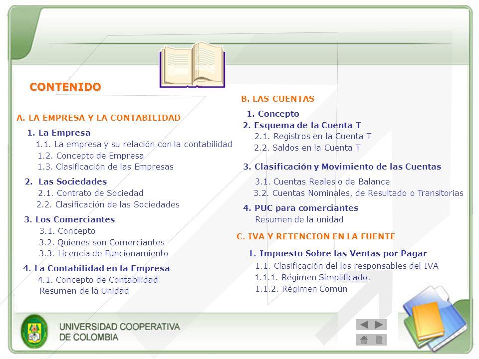 A. LA EMPRESA Y LA CONTABILIDAD 4. La Contabilidad en la Empresa