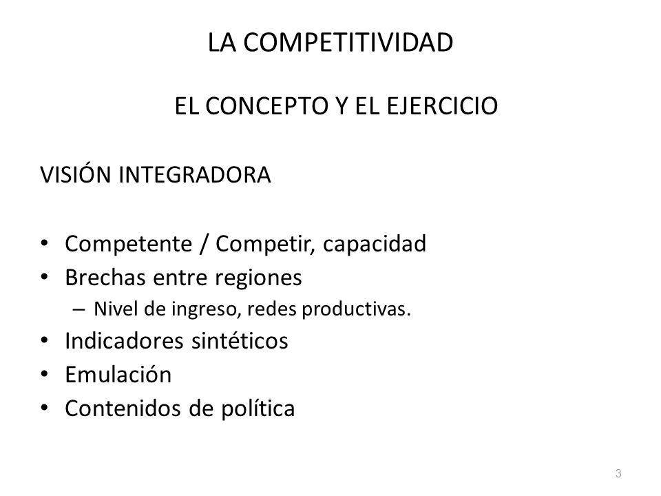 EL CONCEPTO Y EL EJERCICIO