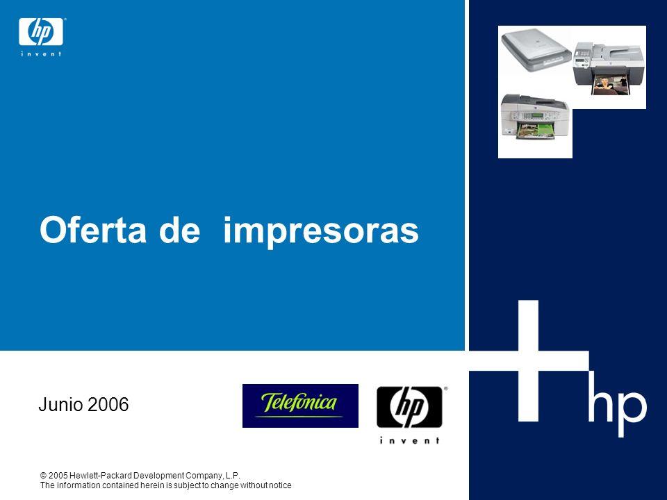 Oferta de impresoras Junio 2006