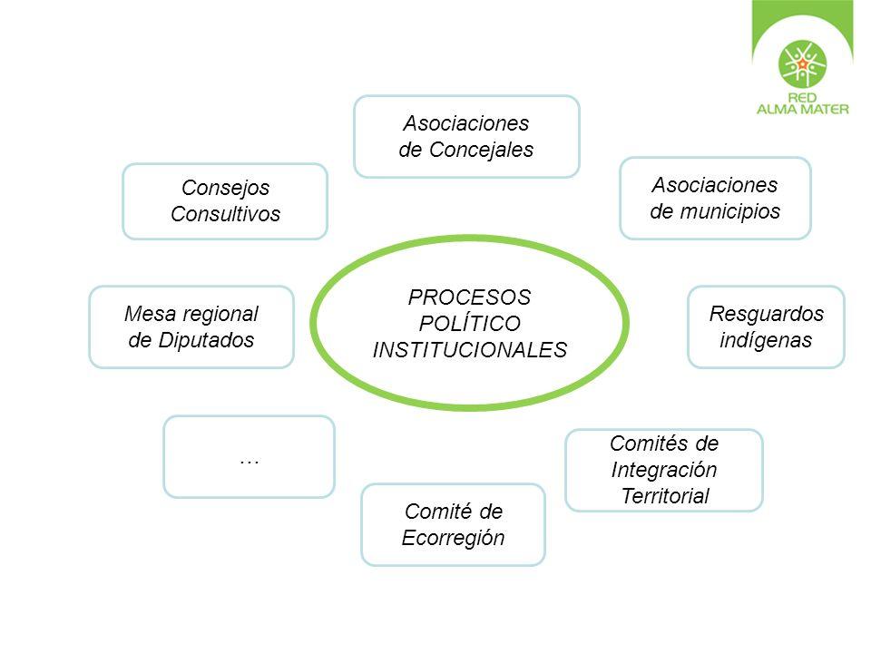 PROCESOS POLÍTICO INSTITUCIONALES