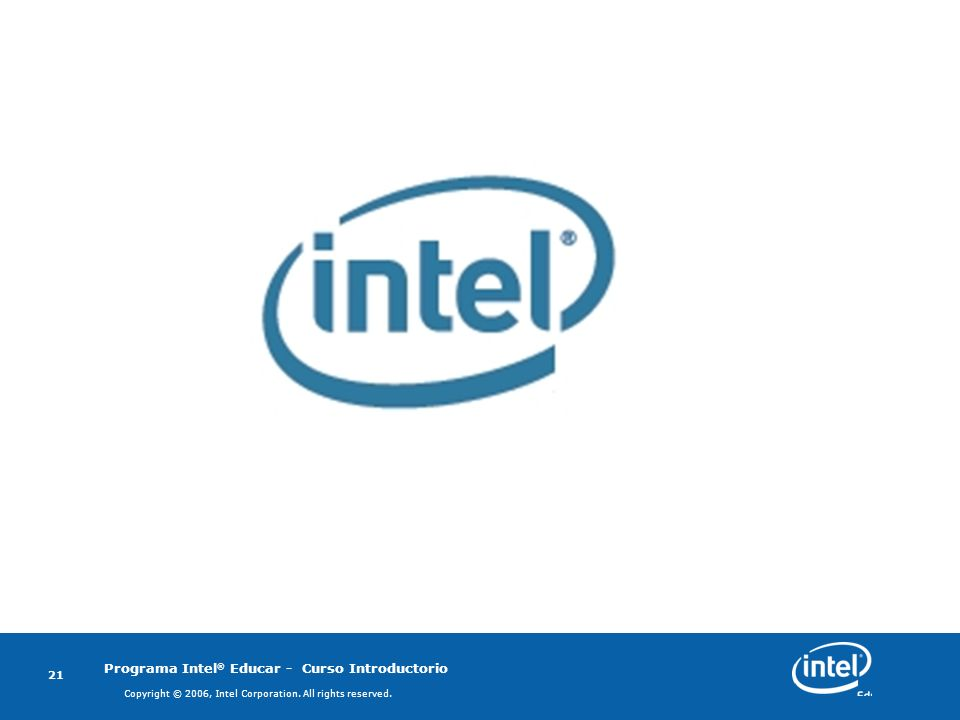 Copyright © 2006, Intel Corporation. All rights reserved.