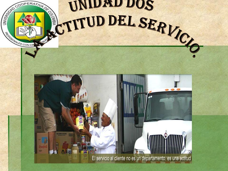 LA ACTITUD DEL SERVICIO.