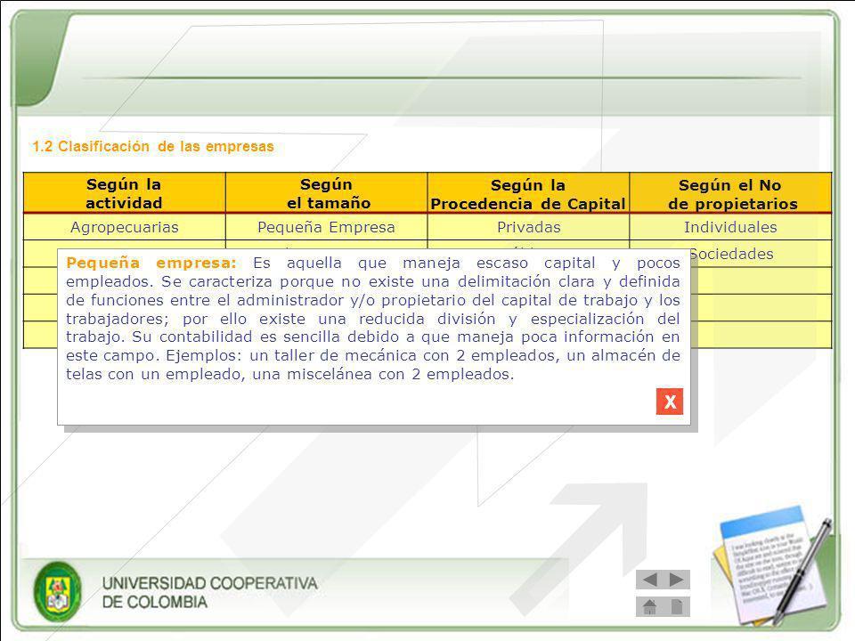 Procedencia de Capital