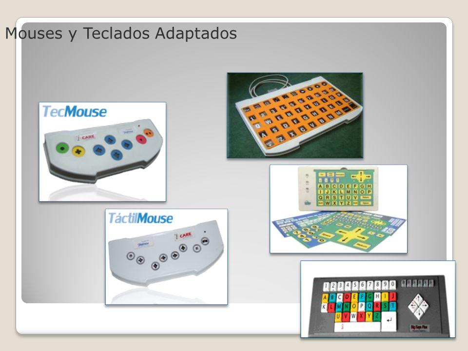 Mouses y Teclados Adaptados