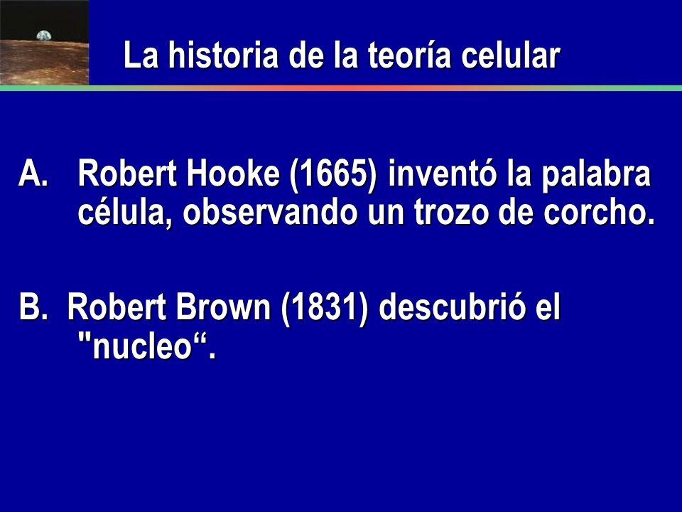 La historia de la teoría celular