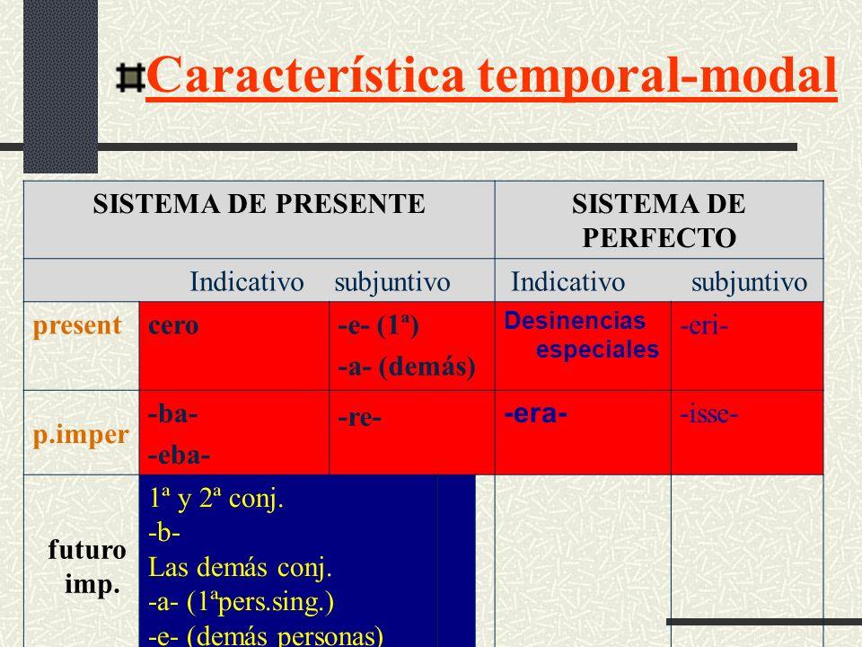 Característica temporal-modal