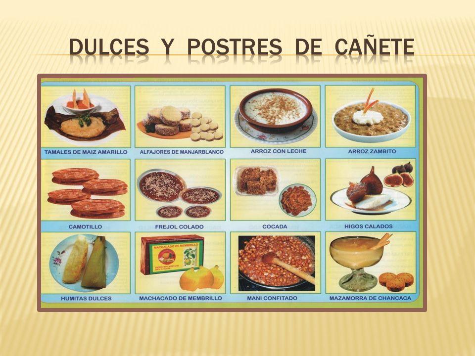 DULCES Y POSTRES DE CAÑETE