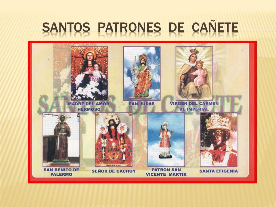 SANTOS PATRONES DE CAÑETE