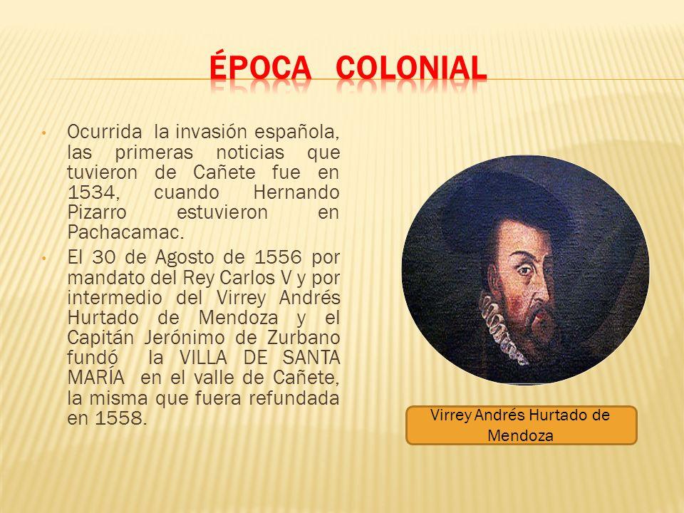 Virrey Andrés Hurtado de Mendoza