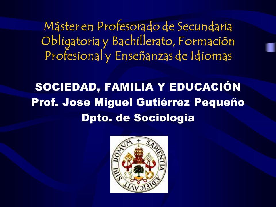 Máster en Profesorado de Secundaria Obligatoria y Bachillerato, Formación Profesional y Enseñanzas de Idiomas