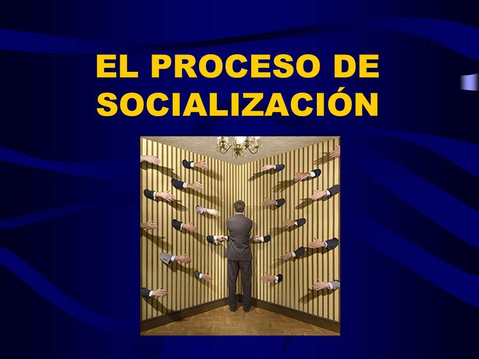 EL PROCESO DE SOCIALIZACIÓN