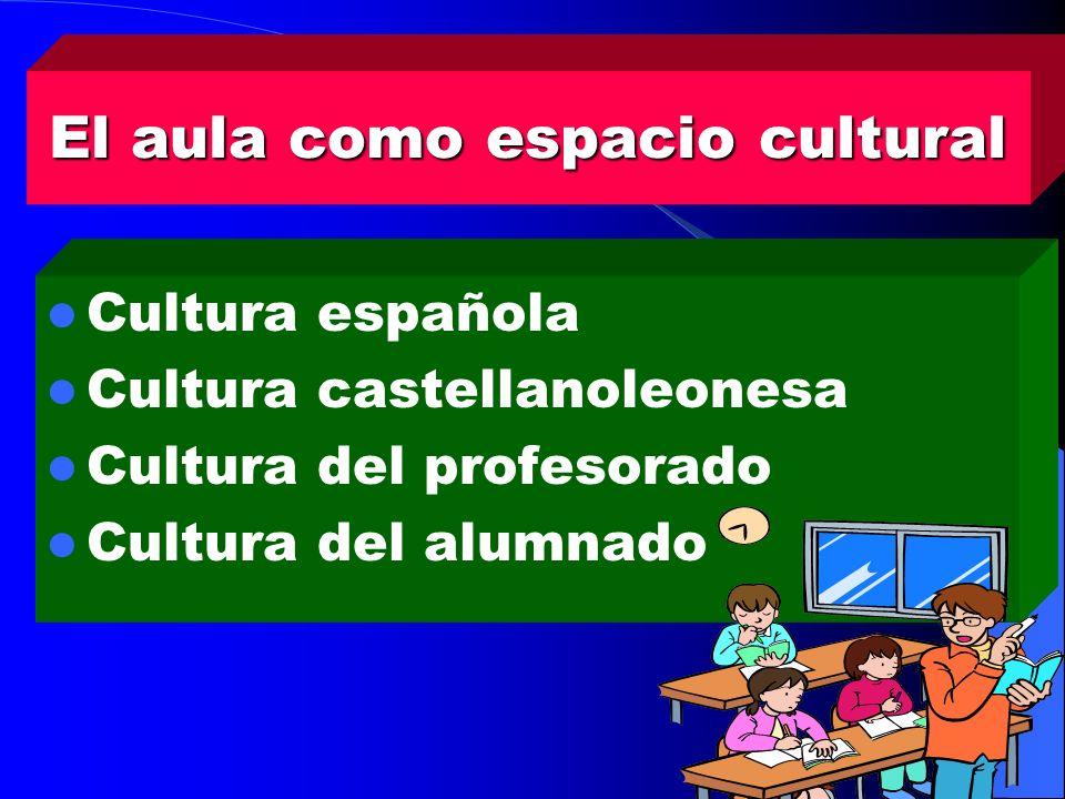 El aula como espacio cultural