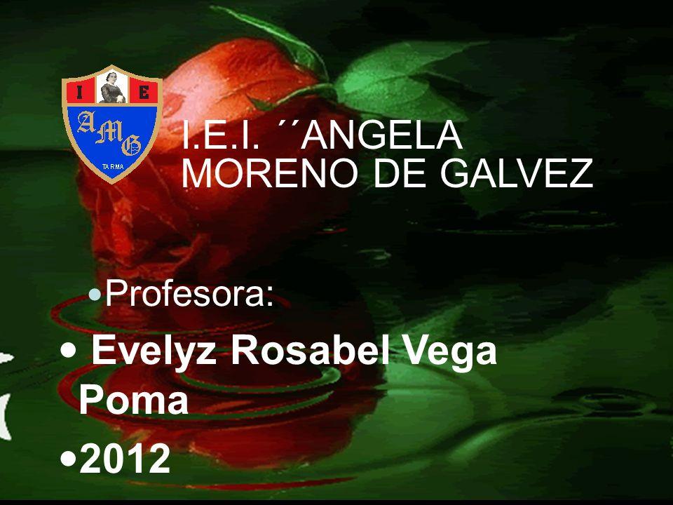 Evelyz Rosabel Vega Poma 2012
