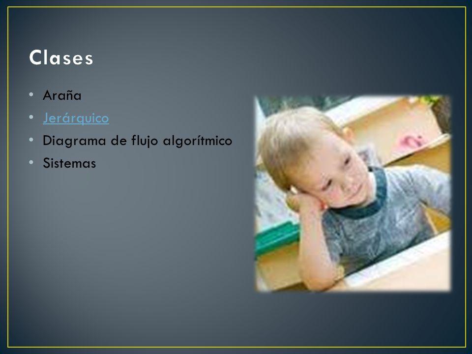 Clases Araña Jerárquico Diagrama de flujo algorítmico Sistemas