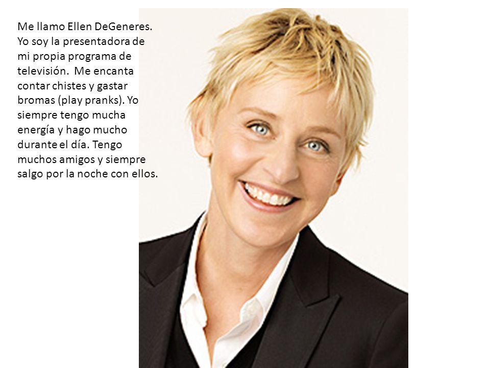 Me llamo Ellen DeGeneres