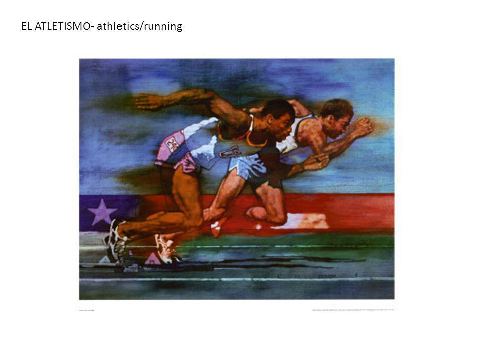EL ATLETISMO- athletics/running